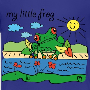 My little frog - Kids' Premium T-Shirt