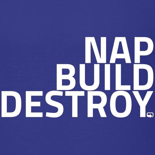 NAP BUILD DESTROY - Børne premium T-shirt