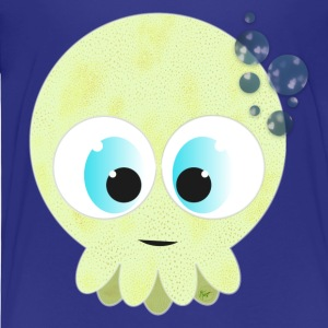 Green Baby Squid - T-shirt Premium Enfant