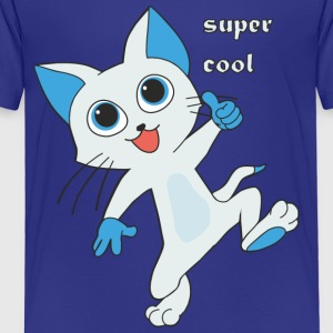 super coole Miez - Kinder Premium T-Shirt