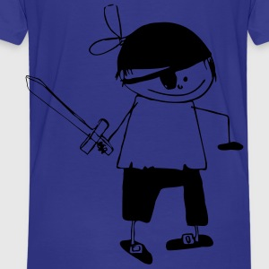 pirate1 - Kinderen Premium T-shirt