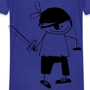 Pirate1 - Kinder Premium T-Shirt