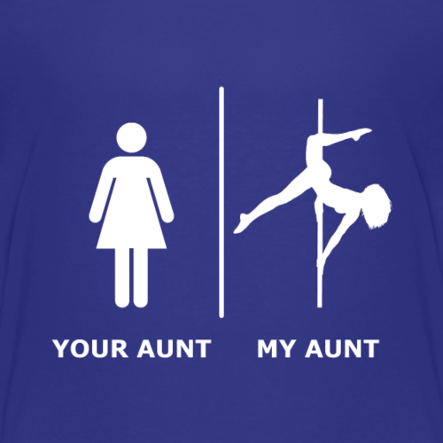Your Aunt I My Aunt, weiß - Kinder Premium T-Shirt