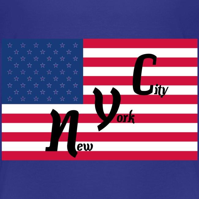America Flag NYC
