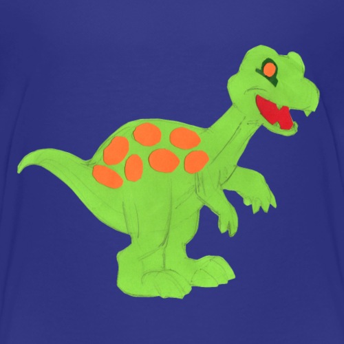 Luisa-0009-Dino1 - Kinder Premium T-Shirt