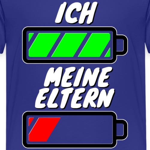 Ich - Meine Eltern 001 | Lustiges Motiv für Kinder - Kinder Premium T-Shirt