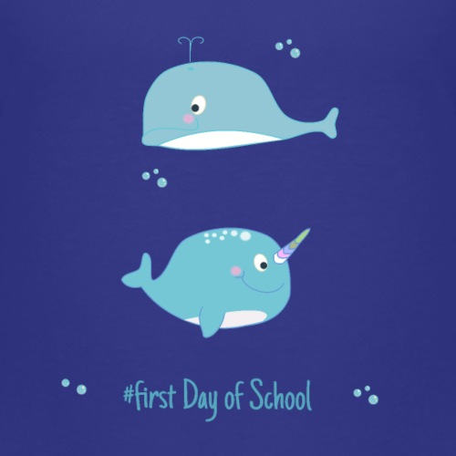 narwal and dolphine - first day of School