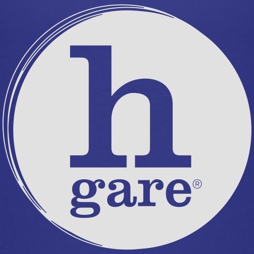 HGARE LOGO TONDO PIENO GIALLO - Maglietta Premium per bambini
