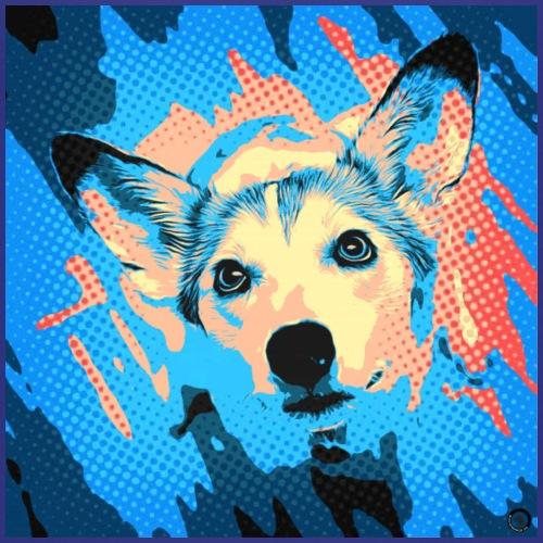 Hundecomic Podenco-Mix Wilma - Kinder Premium T-Shirt