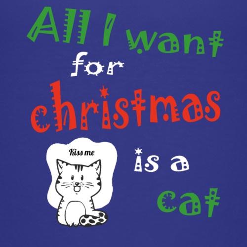 Al wat ik wil voor kerstmis is een kat