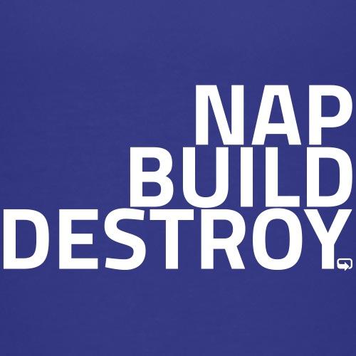 NAP BUILD DESTROY - Kids' Premium T-Shirt