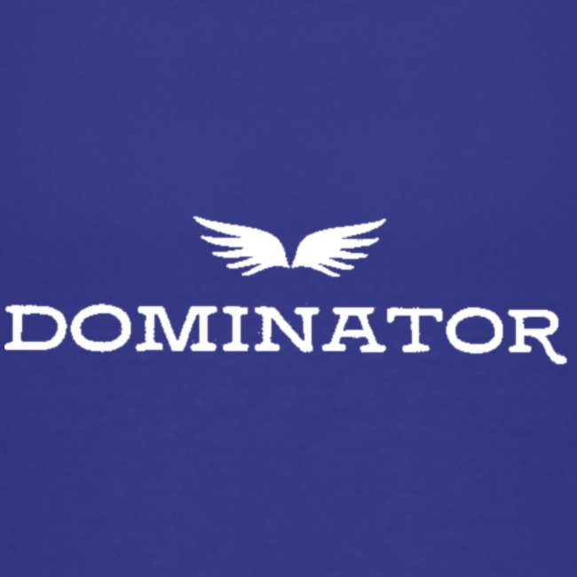 DOMINATOR white logo
