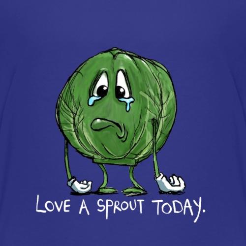 Ortaggi divertenti Sad Sprout - Maglietta Premium per bambini