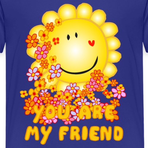 Bee Beautiful Collection - You are my friend - Kinderen Premium T-shirt