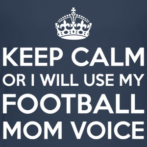 Football Mom Voice - Kids' Premium T-Shirt