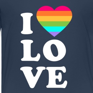 I love LGBT - Kids' Premium T-Shirt