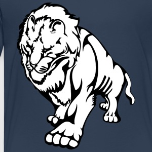 Walking big lion - Kids' Premium T-Shirt