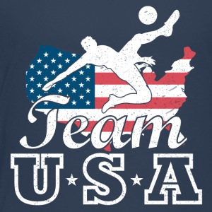 Team USA fotboll - Premium-T-shirt barn