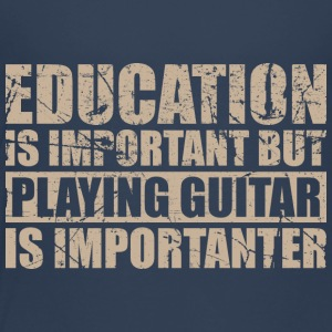 At spille guitar er importanter - Musik - Børne premium T-shirt