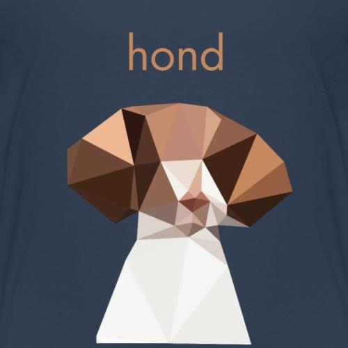 Chien - Design minimaliste - T-shirt Premium Enfant