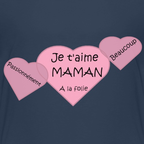 Je t'aime Maman - T-shirt Premium Enfant