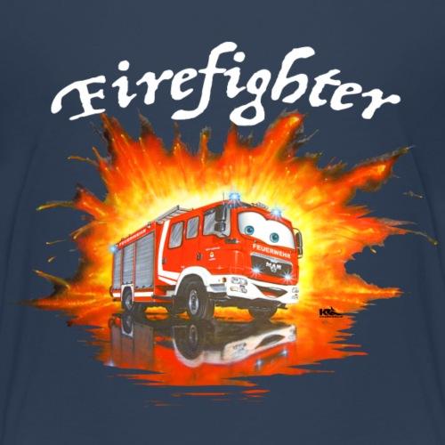 MAN Comic Feuerwehr 17 - Kinder Premium T-Shirt