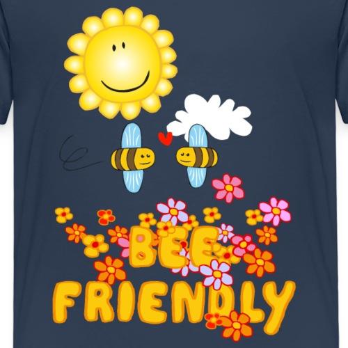 Bee Beautiful Collection - Bee Friendly - Kinderen Premium T-shirt