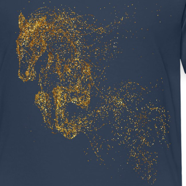 Vorschau: jumping horse gold - Kinder Premium T-Shirt