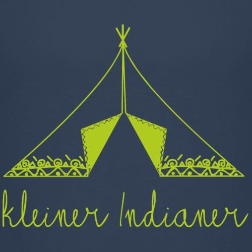 kleinerindianer gruen - Kinder Premium T-Shirt
