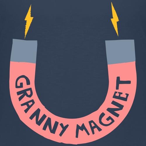 Granny Magnet (Pink) - Kids' Premium T-Shirt