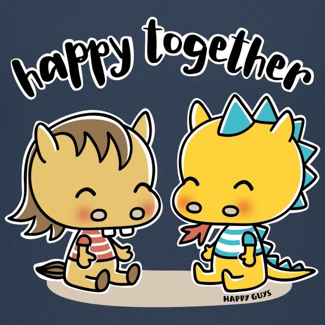 Happy Together - Pferd und Drache