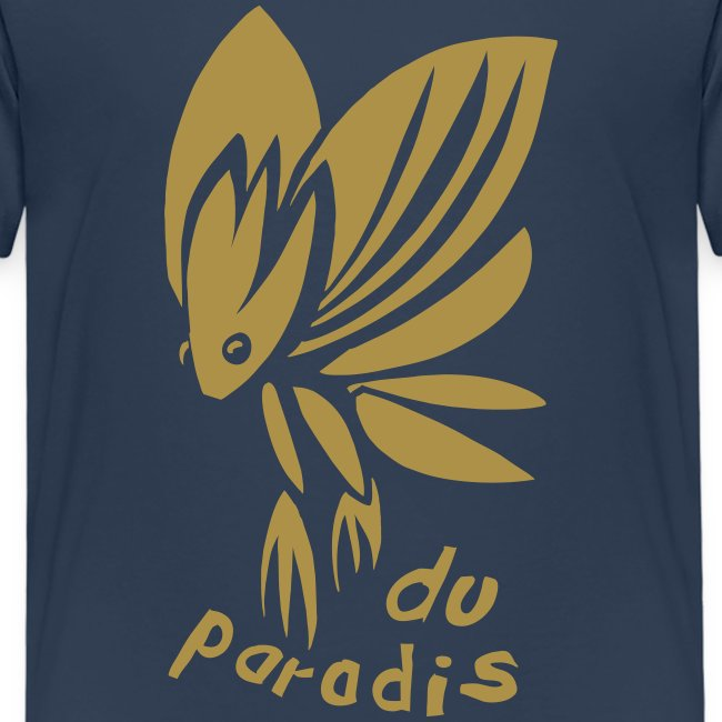 Paradiesschmetterling Gold (kids)