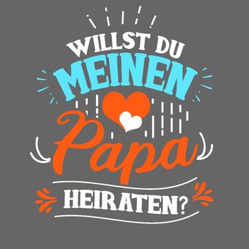 Willst du meinen Papa heiraten Heiratsantrag - Kinder Premium T-Shirt