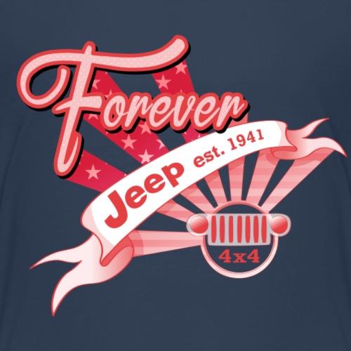 Forever Jeep - Premium-T-shirt barn