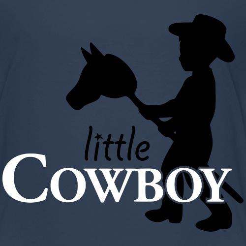 little cowboy_waagrecht - Kinder Premium T-Shirt