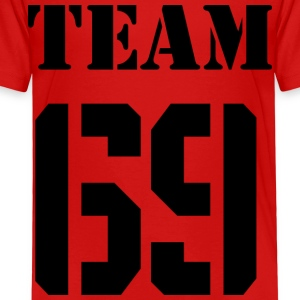 Team-69 - Premium-T-shirt barn