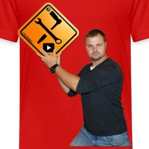 M1Molter + Logo - Kinder Premium T-Shirt