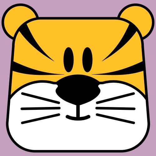 Tiger pillowpet - Kinder Premium T-Shirt