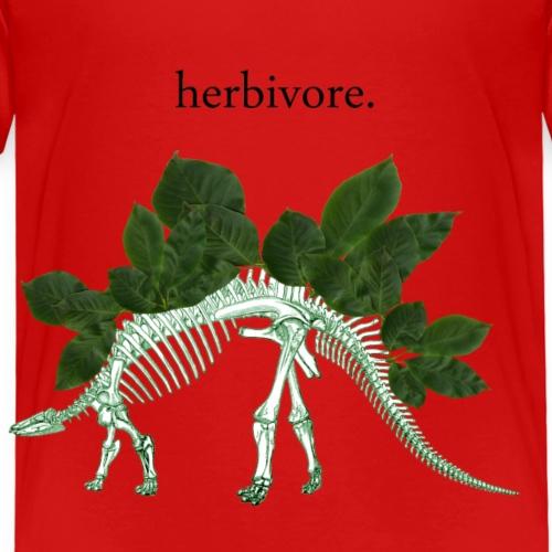 Herbivore Bones Green - Kids' Premium T-Shirt