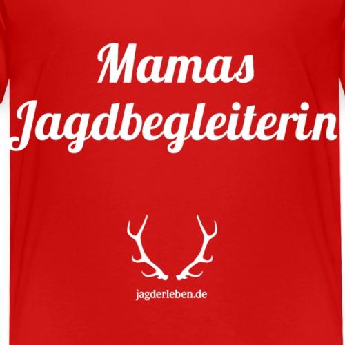 Mamas Jagdbegleiterin weiss - Kinder Premium T-Shirt