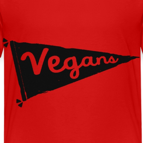 Vegans Flag - Kids' Premium T-Shirt