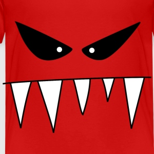 Monstre méchant - T-shirt Premium Enfant
