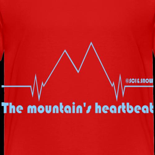 Heartbeat Mood - Maglietta Premium per bambini