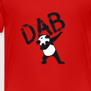 Dab dabbing panda bear slogan touchdown football hi - Kids' Premium T-Shirt