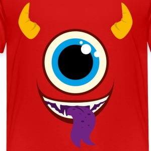Monster Face Pet - Kinderen Premium T-shirt