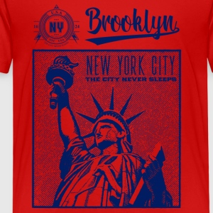 New York · Brooklyn - Premium T-skjorte for barn