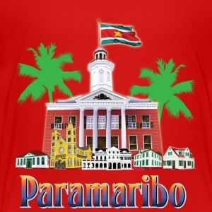 buildings Paramaribo - Kids' Premium T-Shirt