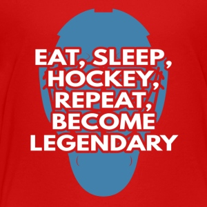 Hockey: Eat, Sleep, Hockey, Repeat, Become - Kids' Premium T-Shirt
