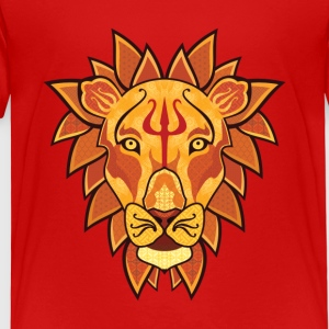 Lion - Premium-T-shirt barn