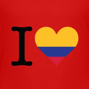 I Love Colombia - Kids' Premium T-Shirt